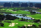 A golf course in Hainan province, the island considered as China's home of golf.