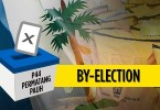 Three candidates will be contesting in the by-election on May 7.