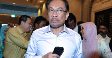 Anwar is currently in Sungai Buloh prison serving a five-year jail term. He recently had a petition via his family for a royal pardon rejected.