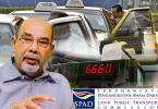 Both Syed Hamid and the SPAD CEO spoke confidently of the new application but could not answer more questions regarding the cheating problems by taxi drivers.