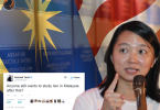 Yeoh's ambiguous tweet has raised questions as to her actual intention.