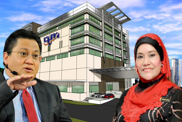 Today Sharifah Zarah told PAC that the 'Intergated News Centre' will be fully operational once her ministry recieved the additional funds it has requested.