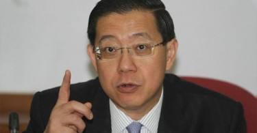 DAP secretary general Lim Guan Eng