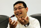The PKR politician is alleged to have made disparaging remarks at a forum.