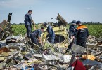 More human remains and aicraft parts have been found at the site in eastern Ukraine.