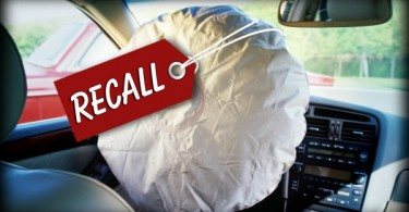The recall involves  safety issues with Takata airbags.