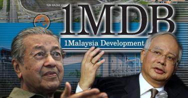 Mahathir, Najib, 1mdb