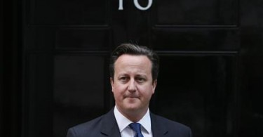 David Cameron will occupy 10 Downing Street for another term.