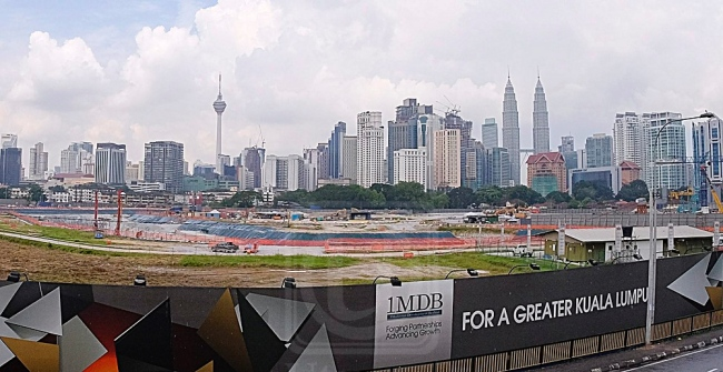 The site of the Tun Razak Exchange is prime and thus much sought-after land.