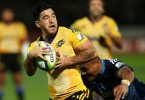 Skudder has been in outstanding form for the Hurricanes in this year's Super Rugby season.