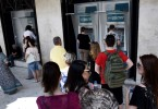 Greeks have been flocking to the ATMs in recent days to withdraw money, putting more pressure on the banks.