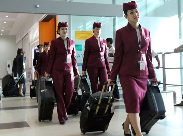 Get pregnant and these flight attendants get the sack.