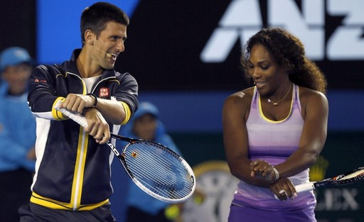 Djokovic is the defending champion while Serena has won the Wimbledon singles title five times.