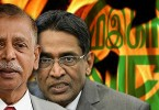 Palanivel (left) insists he's still the president while Subra says he is acting president.