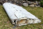 Part of the wreckage that was found on Reunion Island. Could this be a part from MH370?