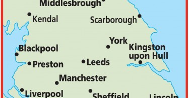Manchester is the largest conurbation in North England with a population of three million people.