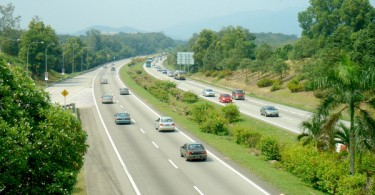 The North-South Highway is Peninsular Malaysia's main artery.