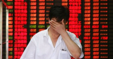 Despair and hopelessness as share prices in China continue to go south.