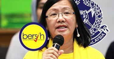 Maria Chin Abdullah of Bersih.