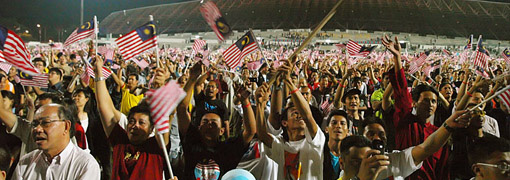 happy malaysians