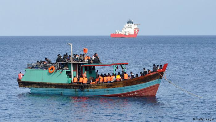 Australia now has a policy of turning back boat people intercepted at sea on the way to the country.