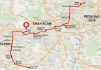 This is the most like route for the Klang Valley's LRT3.