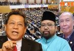 Pandikar Amin, Abdul Halim, Salleh Buang