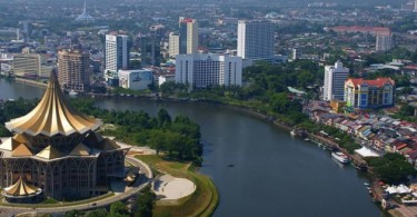 Kuching, the state capital of Sarawak. Over 87 per cent of the investments in the state last year came from overseas.