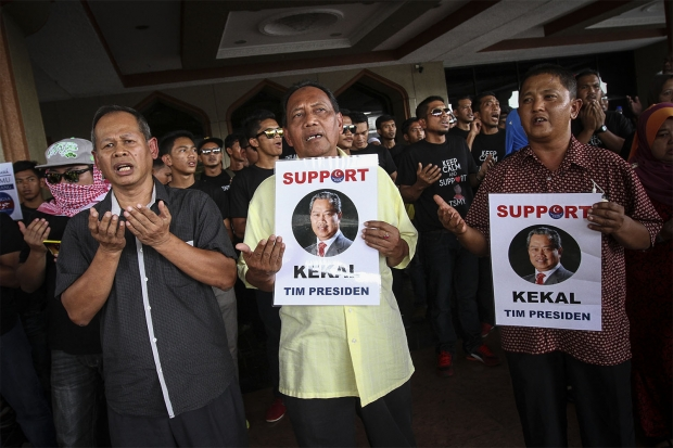 muhyiddin supporters