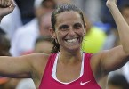 Vinci came back from a set down to upset Williams and move into the final of the US Open.