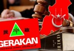 The court ruled that the three applicants from Gerakan failed to show they were affected by the hudud laws.