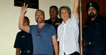 Khairuddin and Chang will have to wait another 13 days to know their charges.