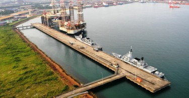 A general view of Kemaman Port.