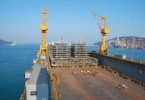 The PFLNG2 is being built at a shipyard in South Korea.