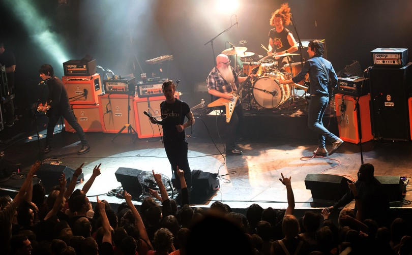 The concert at the Bataclan moments before it was stormed by terrorists on Niovember 13. -- AFP photo