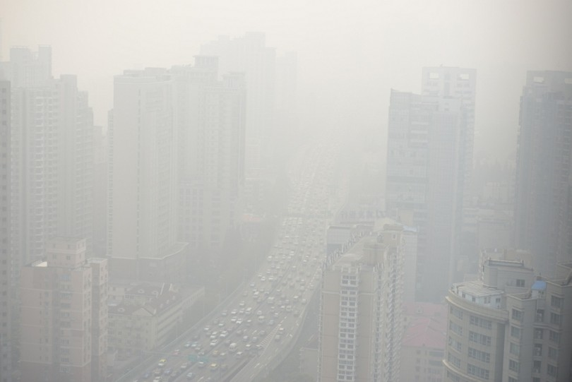 On a bad day, this is what China's cities look like when smog takes over.
