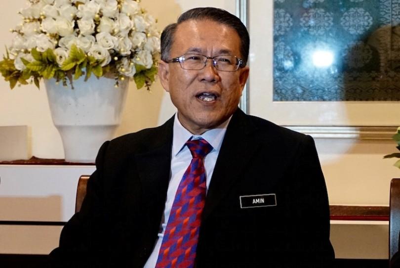 KL Mayor Datuk Seri Mhd. Amin Nordin