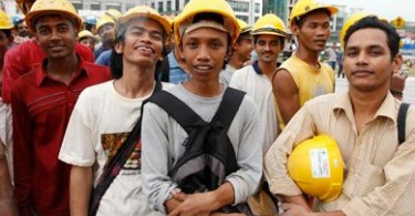 Certain sectors in the Malaysian economy are heavily dependent on immigrant labour.