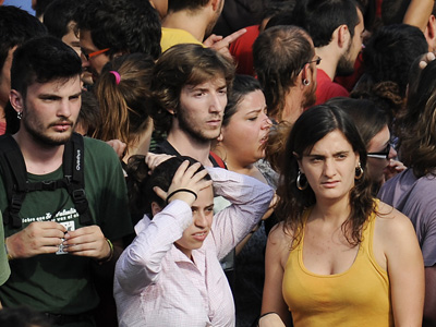 With unemployment past 50%, the young in Spain face bleak prospects.