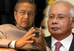 There appears to be no end to the spat between current PM Najib and former PM Since several months ago, Mahathir (left) has been relentless in his attacks on Najib.