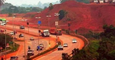 Just look at the pollution caused by the transportation of bauxite if there is no strict enforcement.