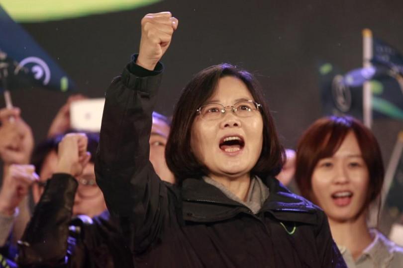 Taiwan's independence-leaning Tsai Ing-wen