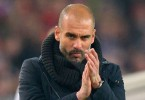 Guardiola had announced in December that he was leaving Bayern Munich after three years in charge.