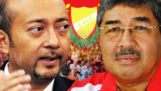 Most of the Umno leaders in Kedah, led by by Datuk Seri Ahmad Bashah (right) are against the leadership of Mentri Besar Datuk Seri Mukhriz Mahathir (left).