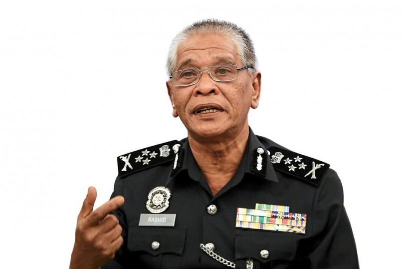 Deputy Inspector-General of Police Tan Sri Noor Rashid Ibrahim