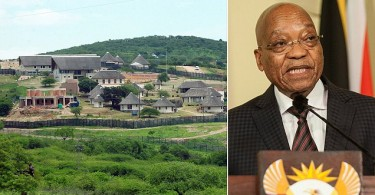 Zuma and his Nkandla private property that was massively renovated using public funds.