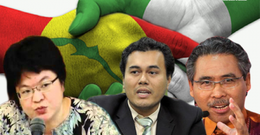 Blogger Helen Ang, Associate Professor Dr Mohd Azizudin Sani, and Dr. Azmi Hassan said it's possible for BN to work with Pas-Ikatan front.