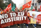 Those against austerity in Europe are threatening the established political parties.