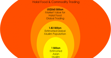 The global halal market.