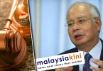 The Malaysiakini online news portal was alleged to have carried two articles in May 2014 that marred the reputation of Najib (photo) and an Umno official.